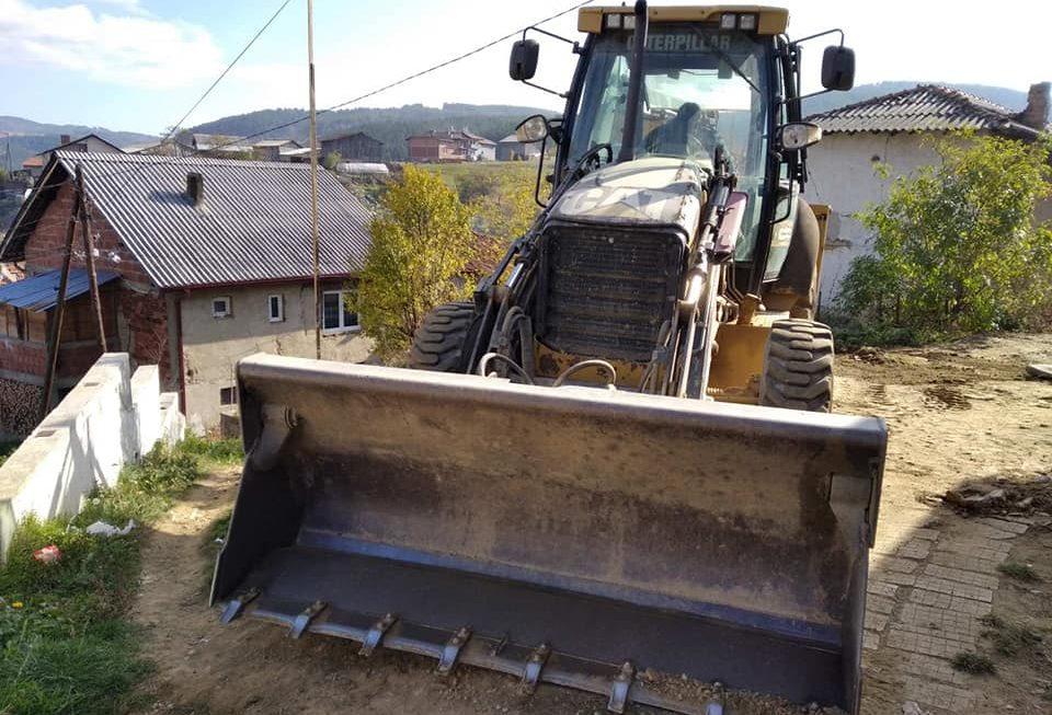 """Започна изградбата на крак од ул.,,Прохор Пчињски"""" во Берово"""