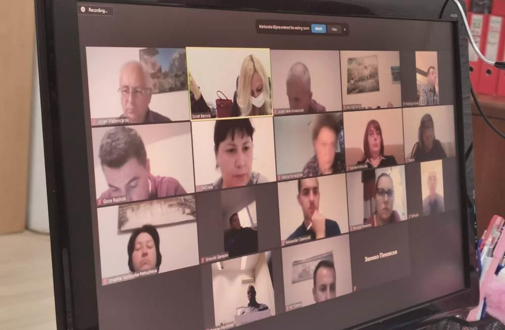 41 Седница на Совет на Општина Берово, во моментот се одржува on line