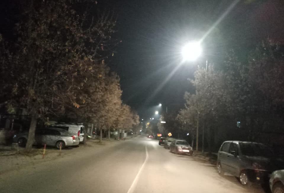Штедливи светилки го подобруваат осветлувањето низ улиците во Берово