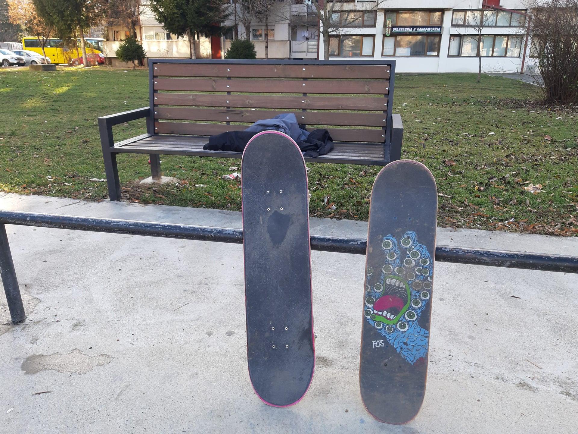 Брзо реновирање на скејт паркот во Берово