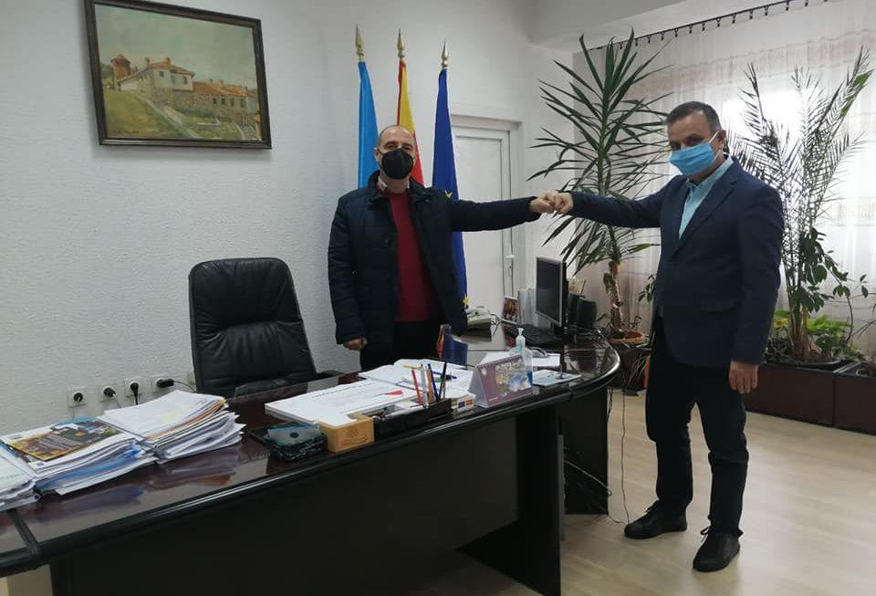 Градоначалникот Пекевски оствари средба со заменик министерот за локална самоуправа, Зоран Димитровски