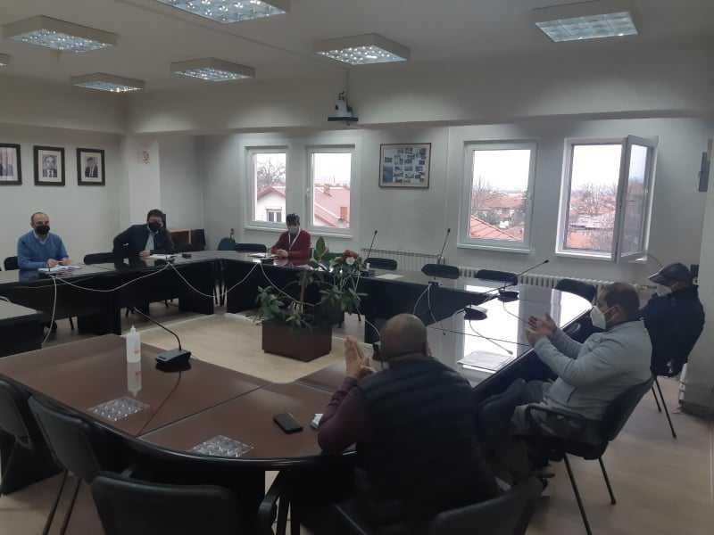 Градоначалникот Пекевски оствари состанок со џамискиот одбор