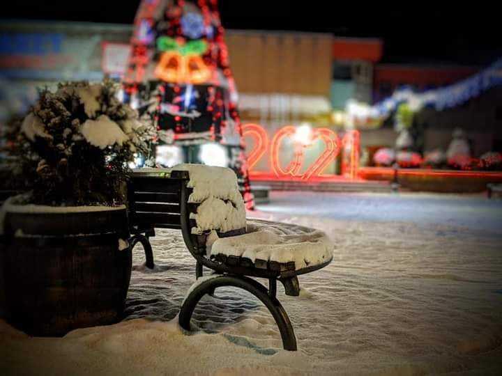 Маѓијата на блескавата снежна идила  на Берово