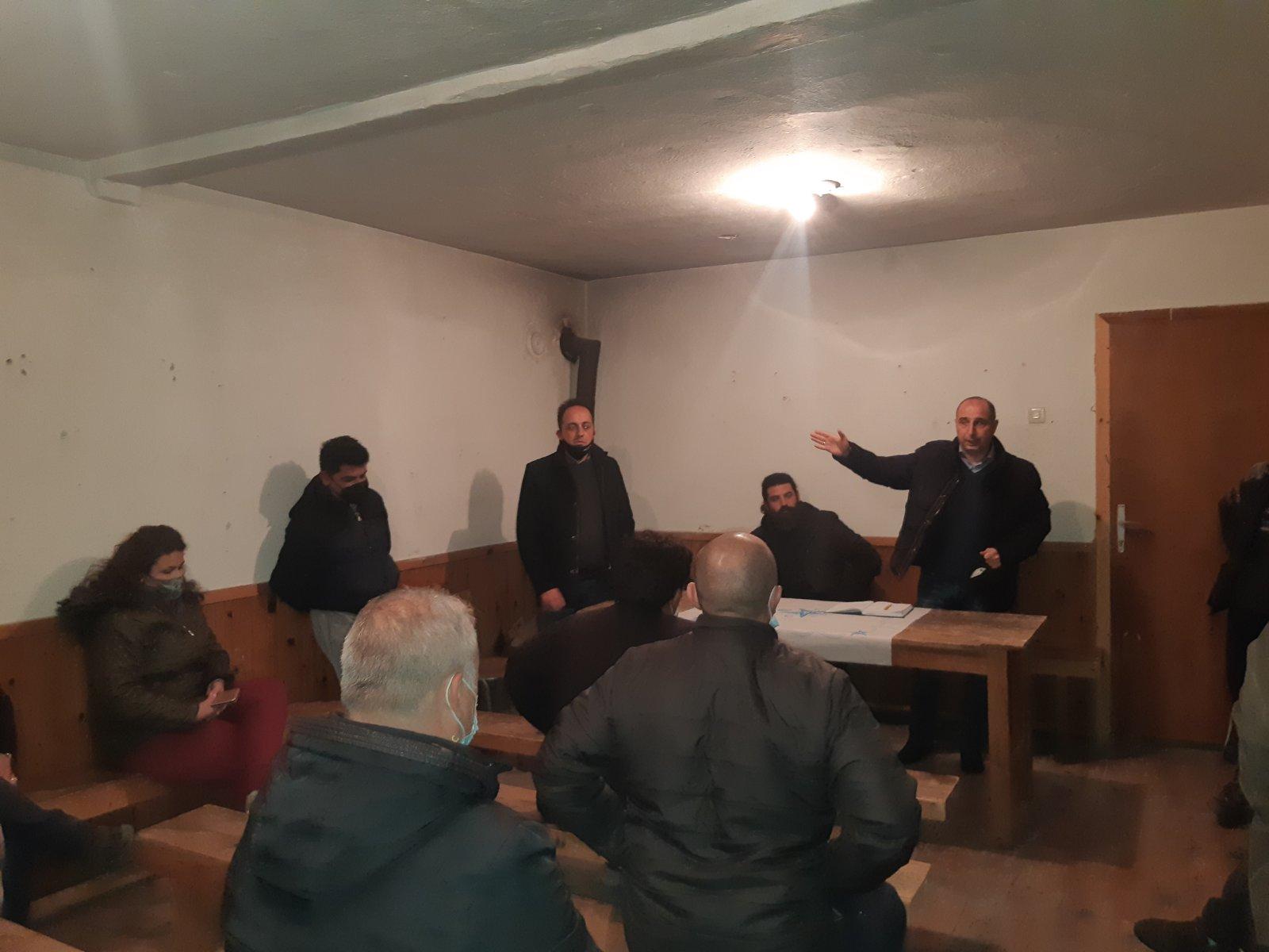 Одржани состаноци со одборите на месните заедници  и црковните одбори од с. Будинарци и с. Митрашинци