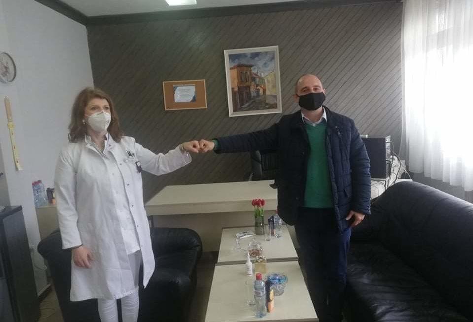 Градоначалникот оствари средба со новиот директор на Здравствен дом Берово