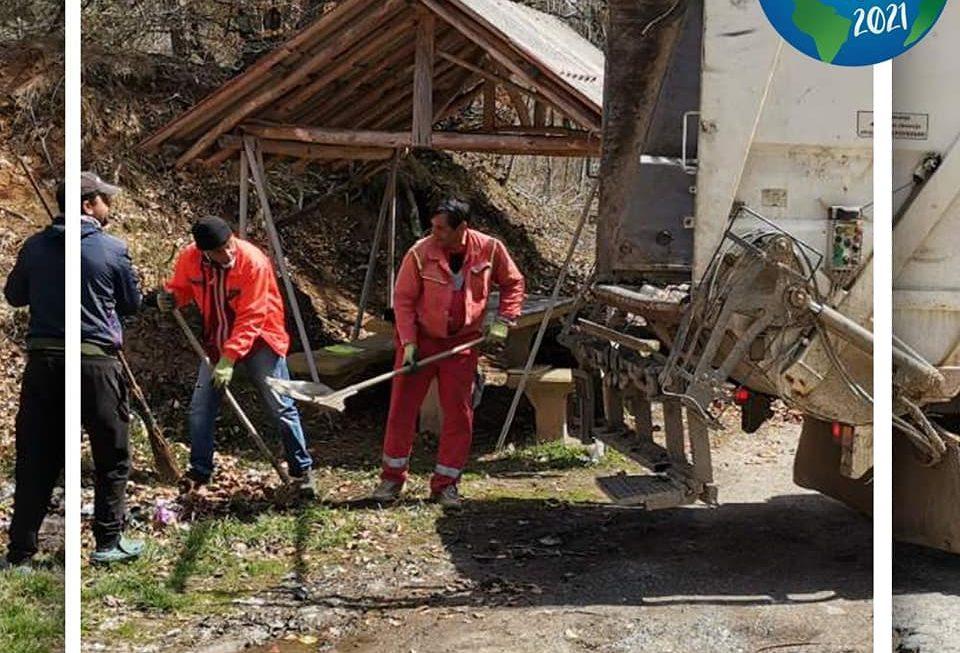 Беровската администрација спроведе еко акција по повод Денот на планетата Земја