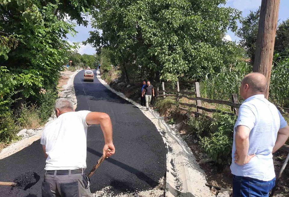 Се подобрува патната инфраструктура во с. Русиново
